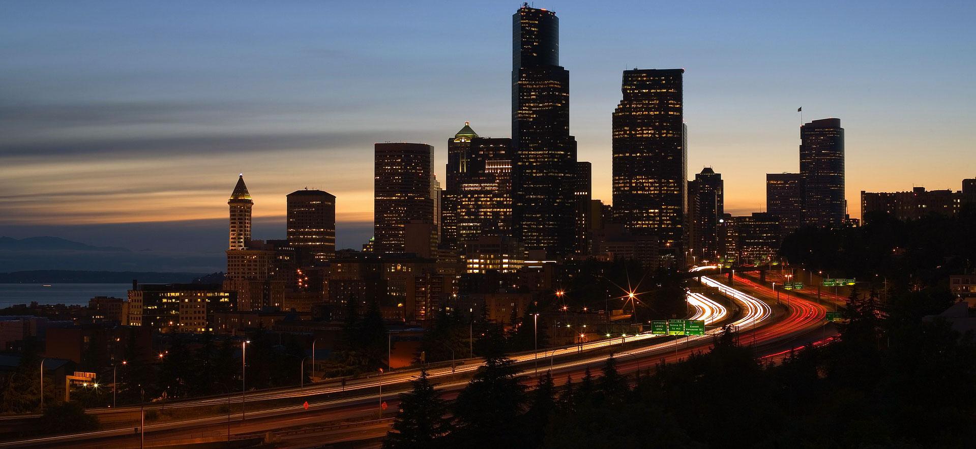 Seattle Skyline - I5